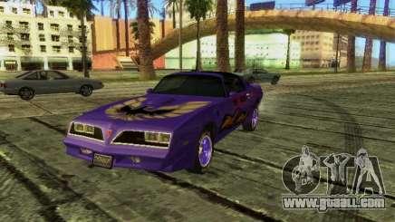 Pontiac Firebird Overhaulin for GTA San Andreas