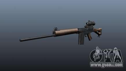 FN FAL sniper rifle for GTA 4