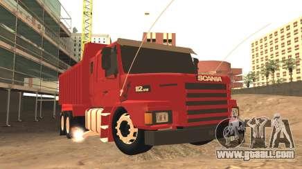 Scania 112HW for GTA San Andreas