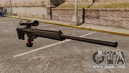 HK PSG10 sniper rifle for GTA 4