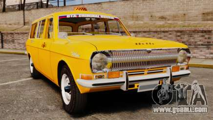 Gaz-24-02 Volga Taxi for GTA 4