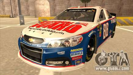 Chevrolet SS NASCAR No. 88 National Guard for GTA San Andreas