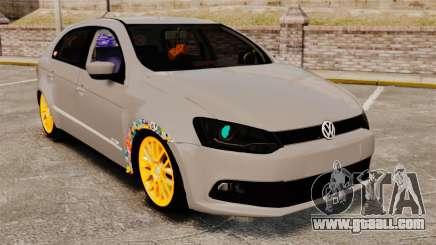 Volkswagen Gol G6 2013 Turbo Socado for GTA 4
