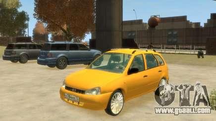 Lada Kalina Hatchback for GTA 4