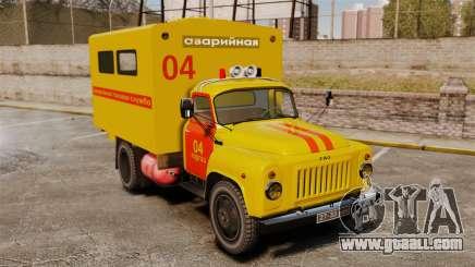 Gaz-52 Emergency for GTA 4