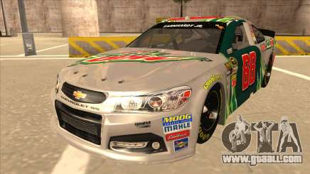 Chevrolet SS NASCAR No. 88 Diet Mountain Dew for GTA San Andreas