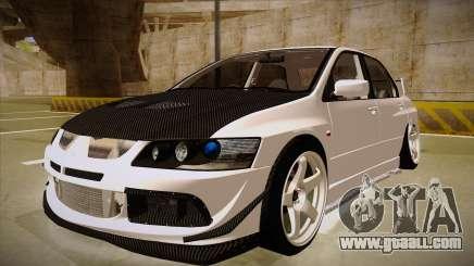 Mitsubishi EVO VIII for GTA San Andreas