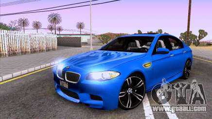 BMW M5 F10 2012 Autovista for GTA San Andreas