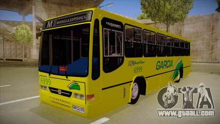 Busscar Urbanus SS Volvo B10 M garcia for GTA San Andreas
