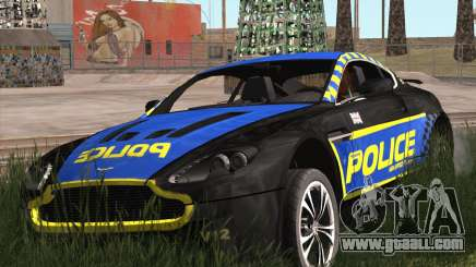 Aston Martin V12 Vantage Cop Edition for GTA San Andreas
