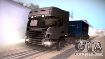 Scania R500 Topline for GTA San Andreas
