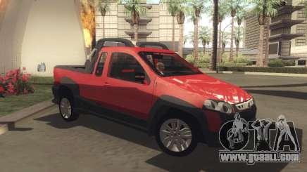 Fiat Strada Locker 2013 for GTA San Andreas