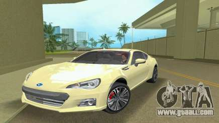 Subaru BRZ Type 1 for GTA Vice City