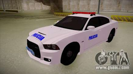 Dodge Charger SRT8 Policija for GTA San Andreas