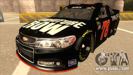 Chevrolet SS NASCAR No. 78 Furniture Row for GTA San Andreas