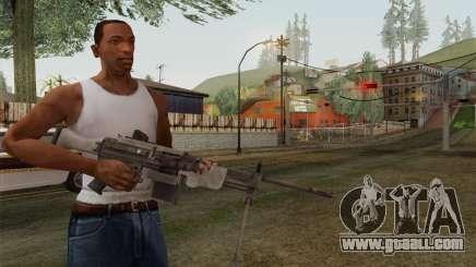 Military gun for GTA San Andreas