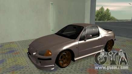 Honda CRX DelSol TMC for GTA San Andreas