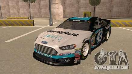 Ford Fusion NASCAR No. 43 Smithfield Foods for GTA San Andreas