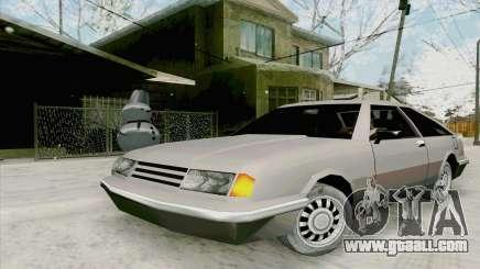 Manana Hatchback for GTA San Andreas
