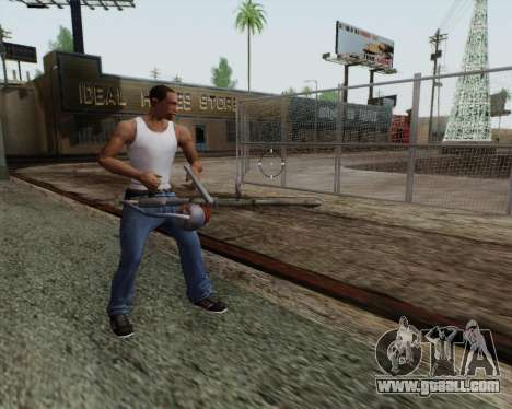 New flamethrower for GTA San Andreas forth screenshot