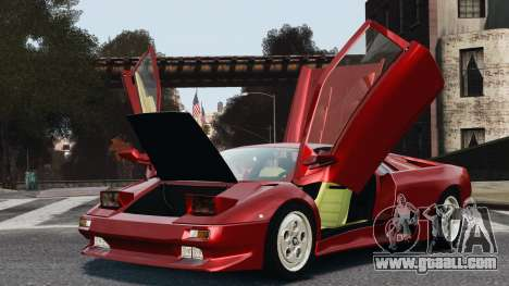 Lamborghini Diablo VT 1994 for GTA 4 right view