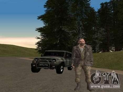 Viktor Reznov for GTA San Andreas