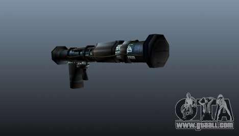 Handheld anti-tank grenade launcher for GTA 4 second screenshot