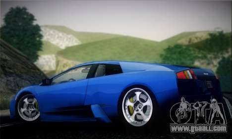 Lamborghini Murciélago 2005 for GTA San Andreas back view
