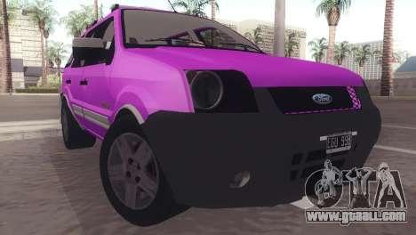 Ford EcoSport V2 for GTA San Andreas