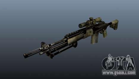 Sniper rifle M21 Mk14 v7 for GTA 4