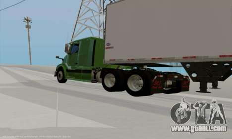 Volvo VNL430 for GTA San Andreas left view