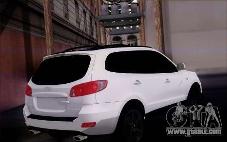Hyundai Santa Fe for GTA San Andreas left view