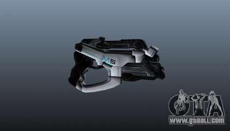 Gun M5 Phalanx for GTA 4 third screenshot