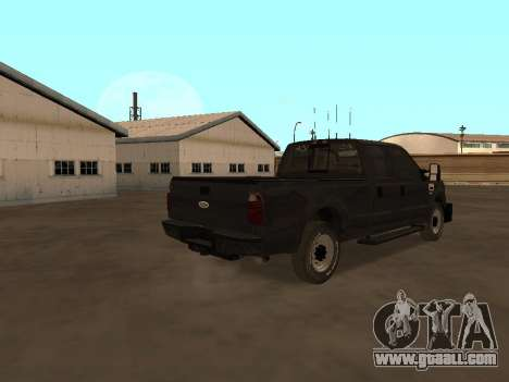 Ford F-350 ATTF for GTA San Andreas right view