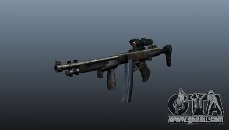 The Thompson submachine gun 2009 for GTA 4