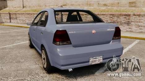 GTA V Declasse Asea I500 for GTA 4 back left view