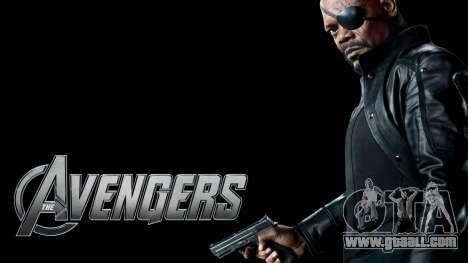 Boot screen Avengers for GTA 4 ninth screenshot