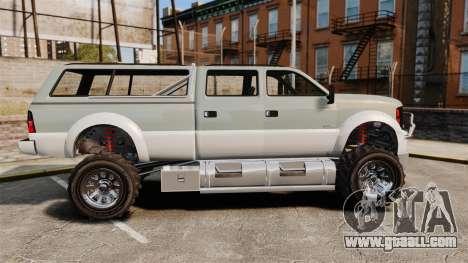 GTA V Vapid Sandking XL 4500 for GTA 4 left view