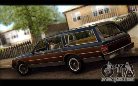 Chevrolet Caprice 1989 Station Wagon for GTA San Andreas left view