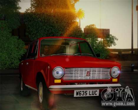 VAZ 21011 Export for GTA San Andreas left view