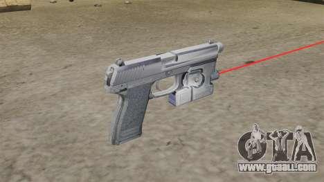 H&K MK23 Socom Pistol for GTA 4 second screenshot
