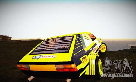 FSO Polonez 2500 Racing 1978 for GTA San Andreas inner view