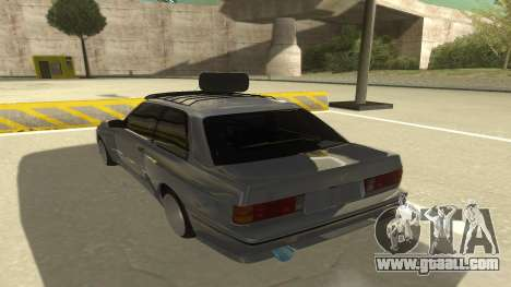 BMW E30 1991 for GTA San Andreas back view