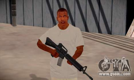 Franklin HD for GTA San Andreas seventh screenshot