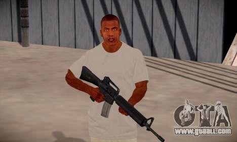 Franklin HD for GTA San Andreas seventh screenshot