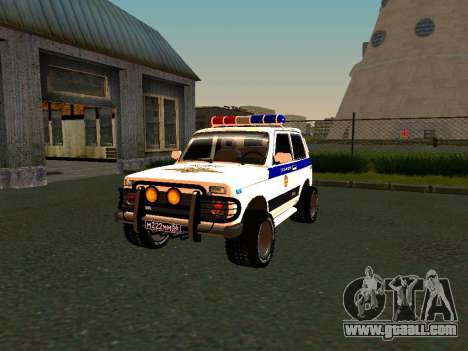 VAZ 212140 Police for GTA San Andreas side view