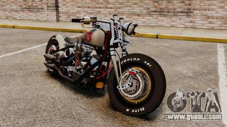 Harley-Davidson Knucklehead v1 for GTA 4