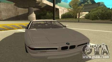 BMW 850CSi 1996 Stock version for GTA San Andreas left view