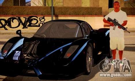 Franklin HD for GTA San Andreas third screenshot