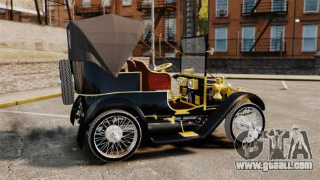 Vintage car 1910 for GTA 4 left view